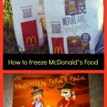 How to freeze McDonald's Food