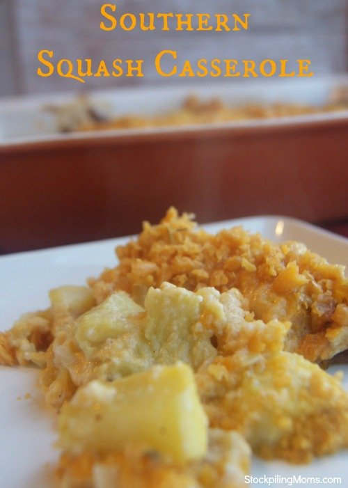 Paula Deen's Squash Casserole is perfect Southern Comfort Food! So easy to prepare and tastes amazing!