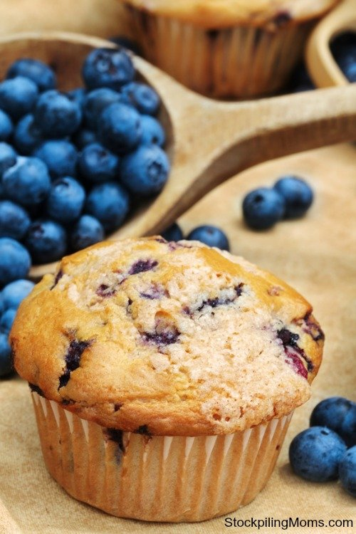 Blueberry Cream Cheese Muffins Recipe are perfect for breakfast or an afternoon snack