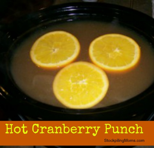 Christmas is not compete without this delicious Hot Cranberry Punch. You can prep this in the slow cooker and enjoy it a the holidays.