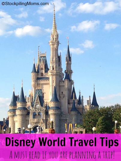 Disney World Travel Tips - a must read if you are planning a trip!