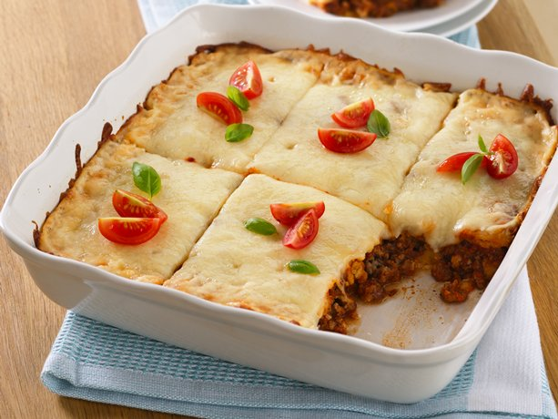 Lasagna Squares is a delicious Freezer Cooking Meal