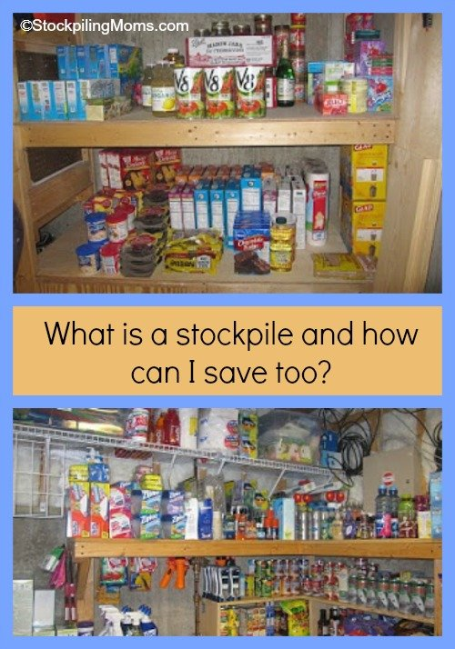 What is a stockpile?