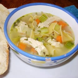 30 Minute Chicken Noodle Soup Recipe - Perfect on a cold winter day!