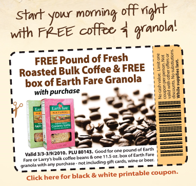 Earth-Fare-FREE-Coffee-and-Granola-Coupon