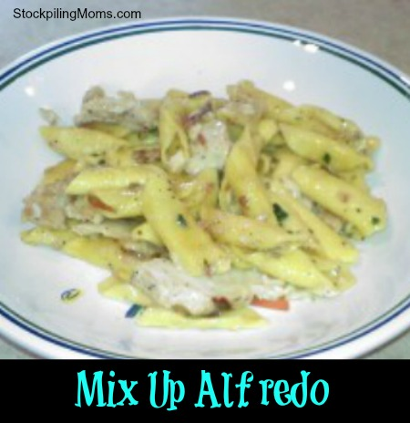 Mix Up Chicken Alfredo