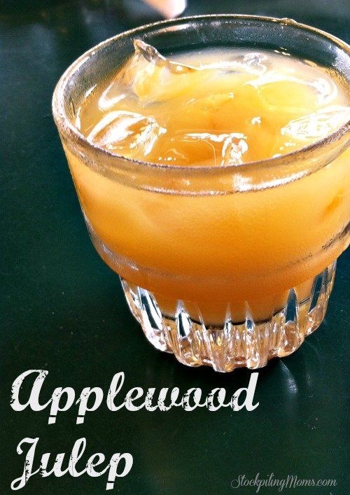 Applewood Julep is a family favorite at breakfast and brunch at our house