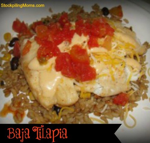 Baja Tilapia is one of my families favorite recipes. It is perfect for Lent.
