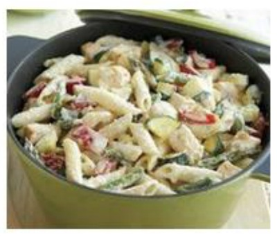 Creamy Pasta Primavera is a delicious one pot meal that the whole family will love.