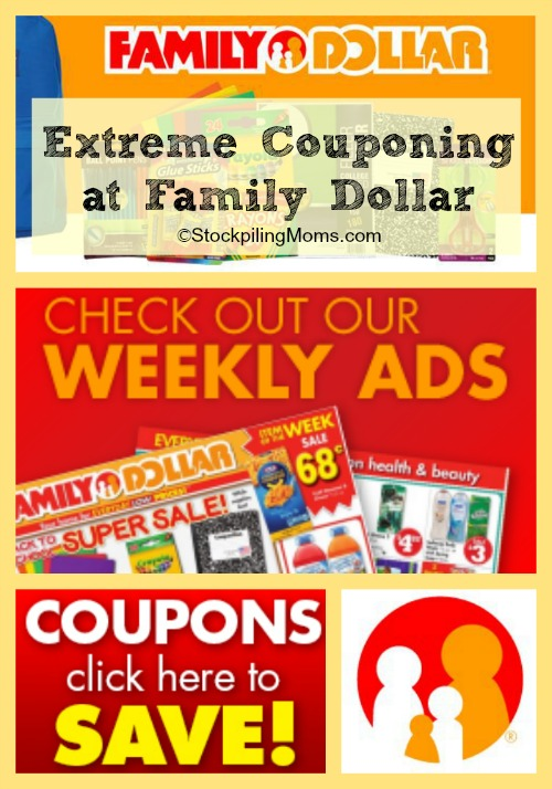 Extreme Couponing at Family Dollar