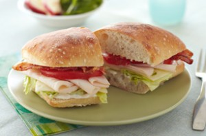 Swiss Chalet Club is the perfect sandwich for lunch and hearty enough for dinner!