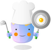 cartoon cook