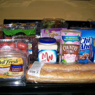 Kraft Foods and Sam's Club Lunchtime for about $1