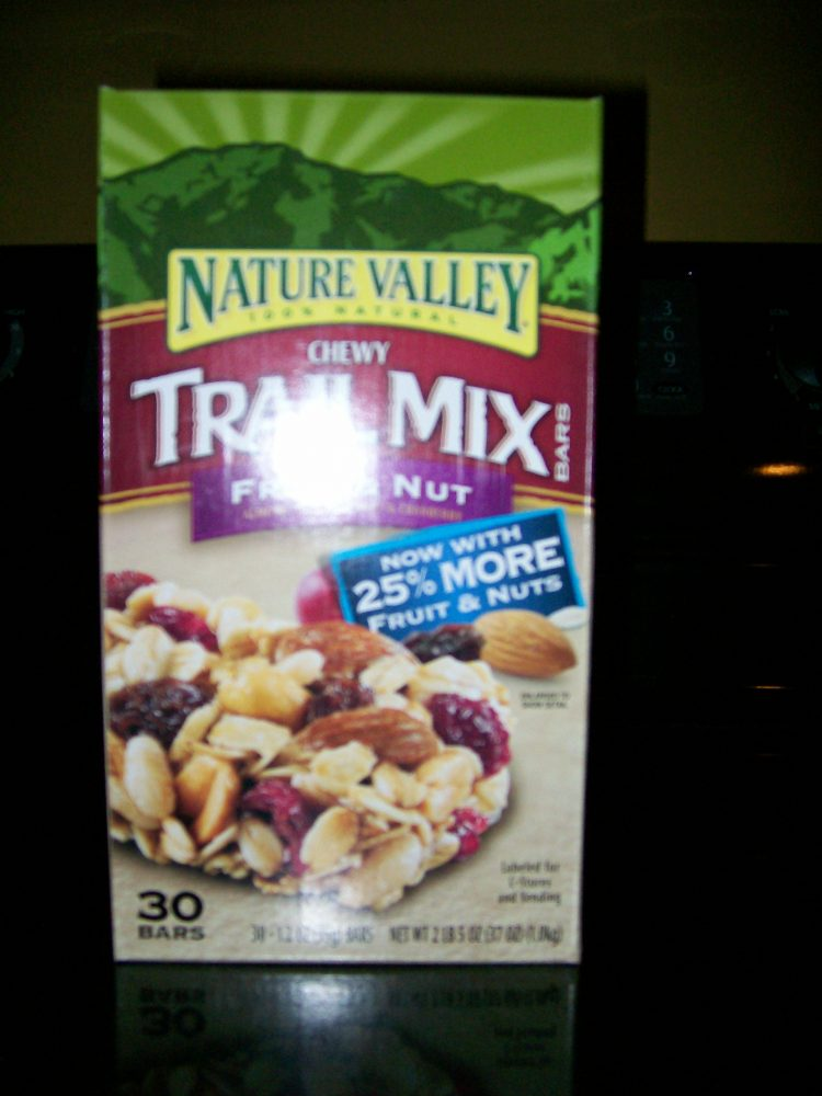 NatureValleyTrailMixBars