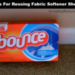Tips For Reusing Fabric Softener Sheets