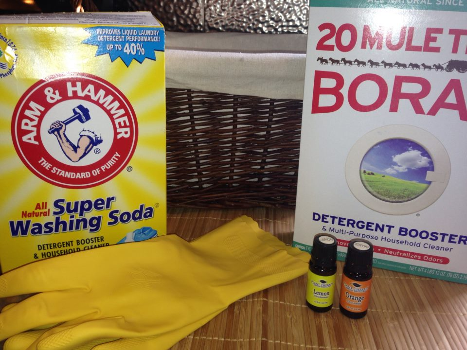 How to make homemade laundry detergent for pennies!