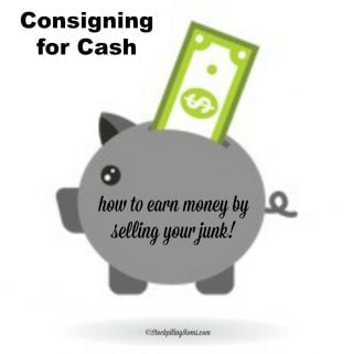 Consigning for Cash