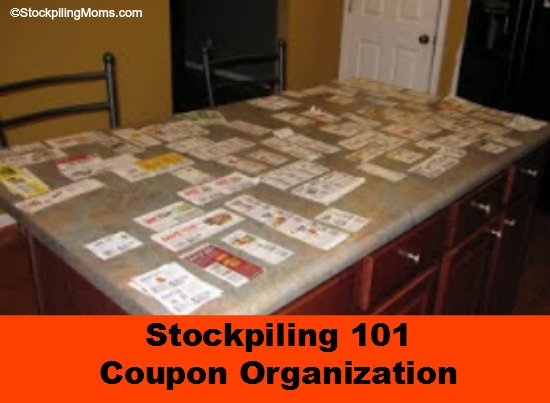 Coupon Organization is the Key to Stockpiling Success and Saving Money at the Store