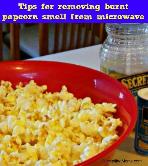 Tips for Burnt Popcorn