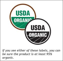 What does USDA Organic mean?