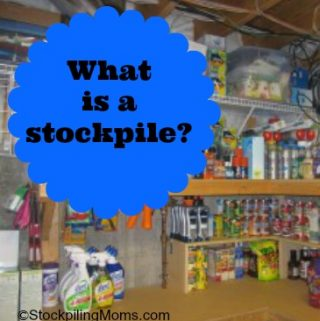 Stockpiling 101 – What is a stockpile?