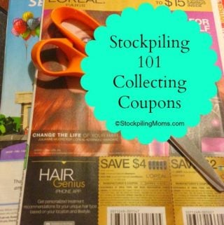 Stockpiling 101 – Collecting your coupons