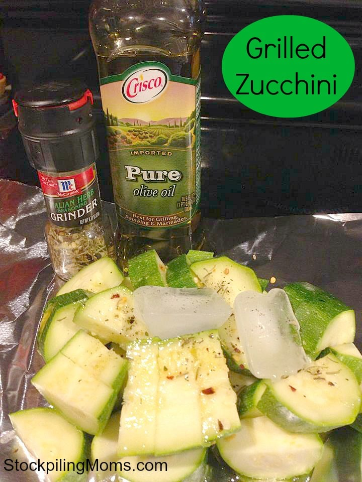 Grilled Zucchini is easy to prepare and tastes amazing!