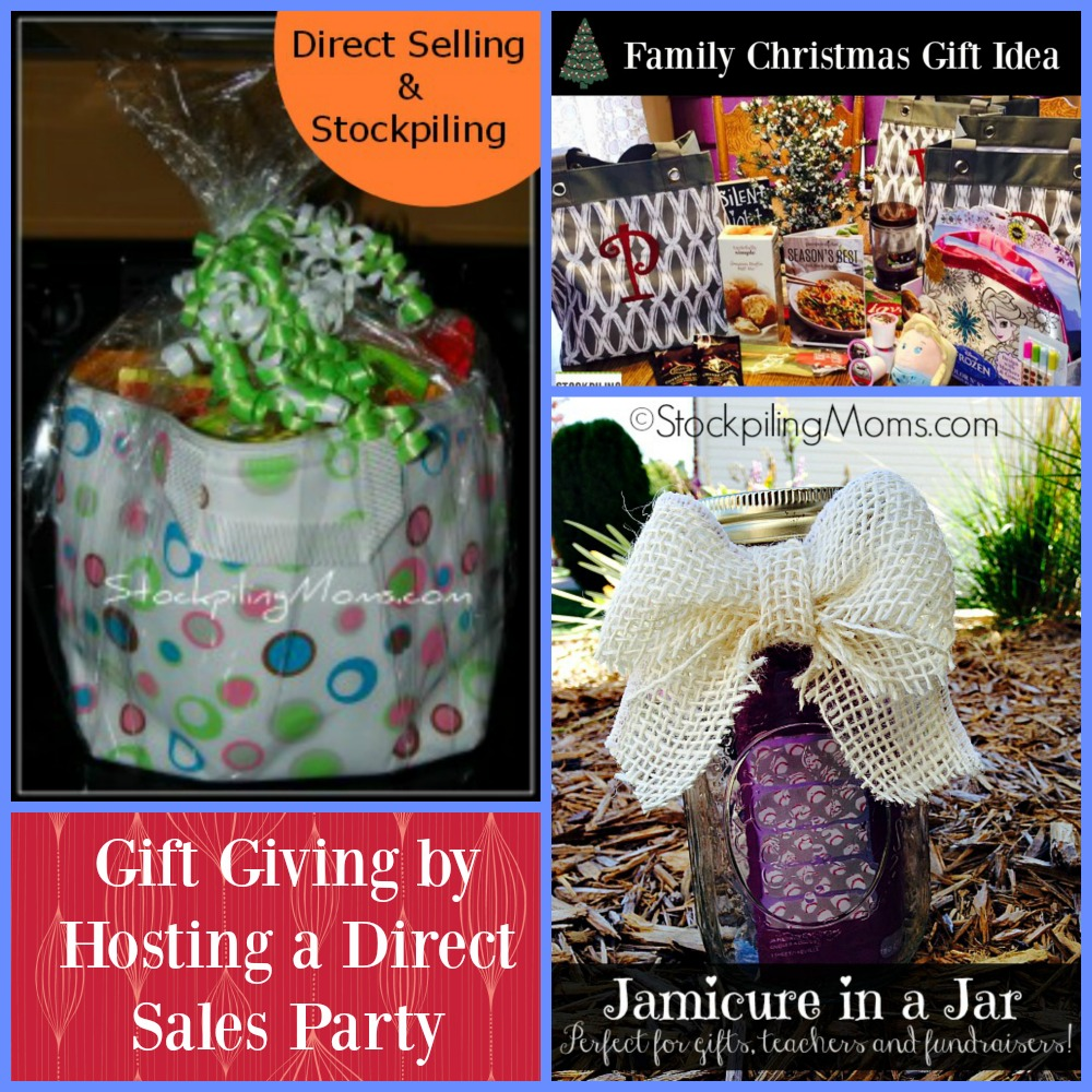 Gift Giving by Hosting a Direct Sales Party