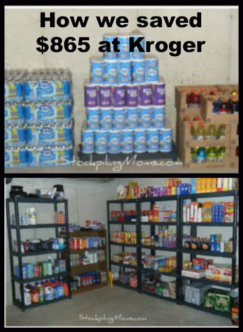 How we saved $865 at Kroger