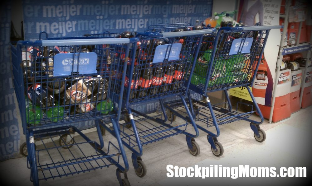 Meijer Shopping carts