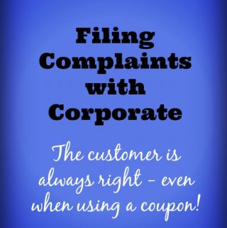 Stockpiling 101 – Filing Complaints with Corporate