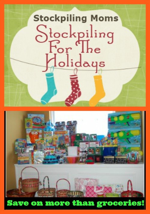 Tips for Stockpiling For The Holidays - a great way to save money!