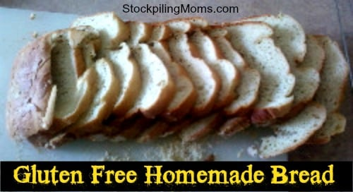 You are going to fall in love with this delicious Gluten Free Homemade Bread recipe