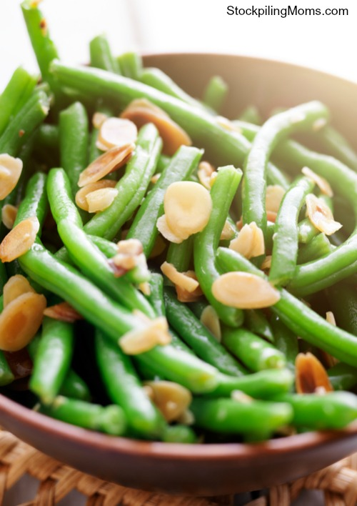 Green Beans Almondine is a simple but elegant side dish that tastes so good.