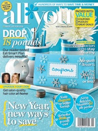 Great Holiday Gift – all you Magazine $.83 an issue