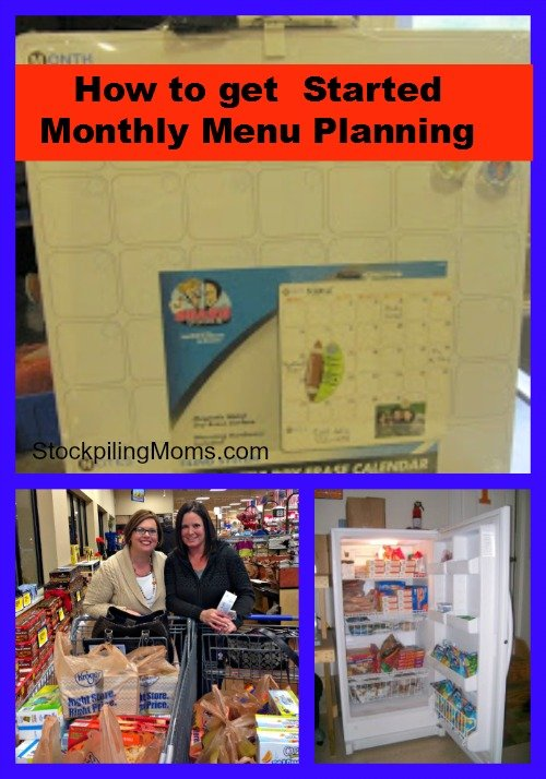 How To Get Started Monthly Menu Planning