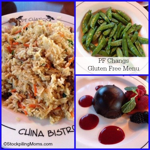 PF Changs Gluten Free Menu
