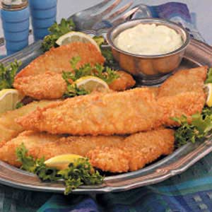 Mom's Fried Fish is easy to prepare and perfect for Lent