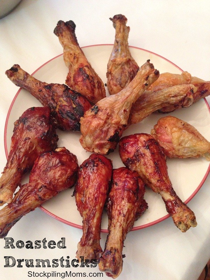 Roasted chicken drumsticks are my go to Keto dinner!