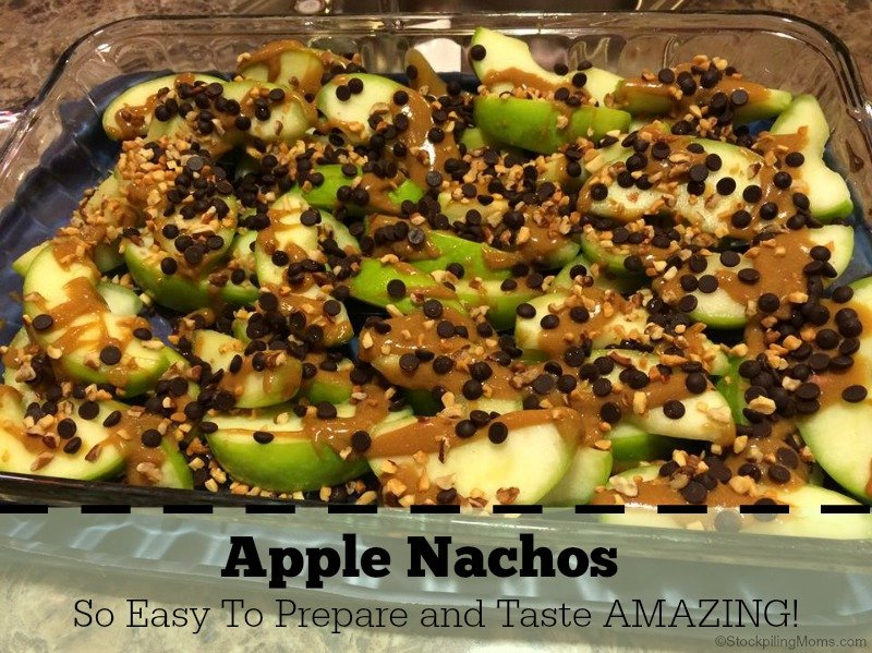 Apple Nachos - So Easy To Prepare and Taste AMAZING!