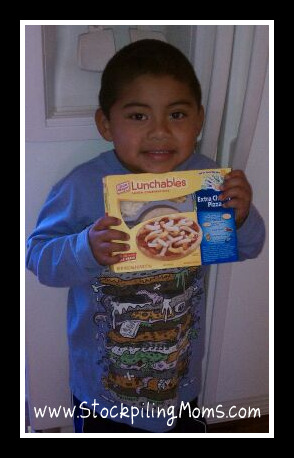 Chase Lunchables