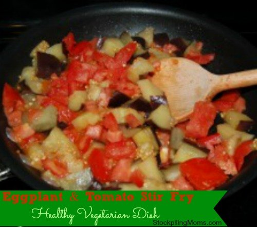 I love this vegetarian dish!  So easy and delicious!
