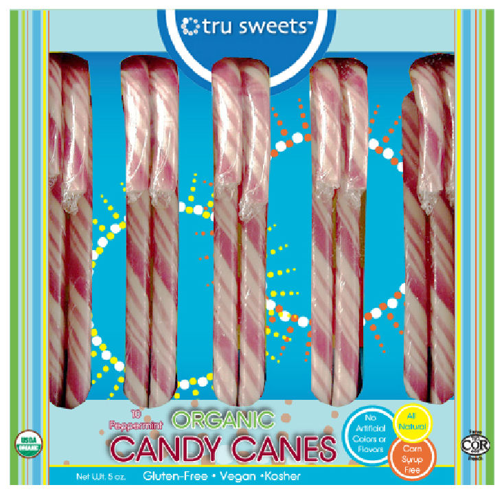 TruSweets Organic Candy Canes Review