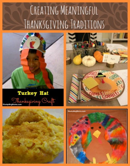 How To Create Meaningful Thanksgiving Traditions