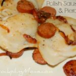 Johnsonville Polish Sausage and Pierogies