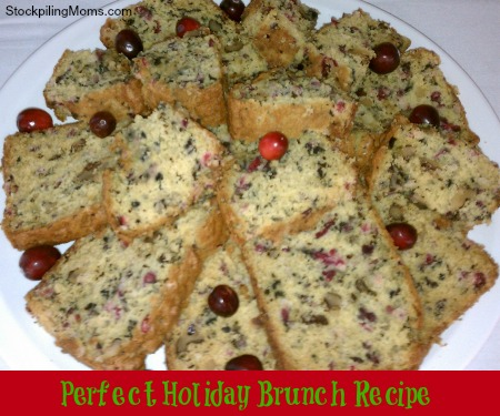 Cranberry Nut Bread with Orange Cranberry Delight