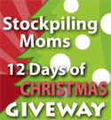 Stockpiling Moms 12 Days of Christmas Giveaway!