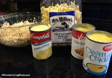Amish Noodles are perfect in this crockpot recipe.