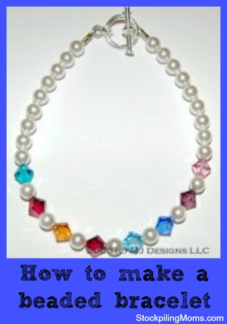 The perfect gift from the heart is beaded jewelry and so easy to make!