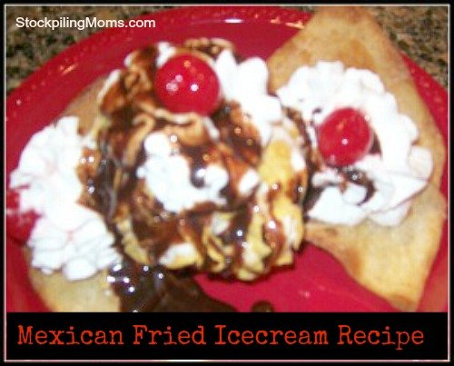 Mexican Fried Ice Cream is an easy no bake recipe that is perfect to celebrate Cinco de Mayo!